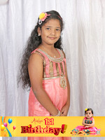 Aadya Birthday Photo Booth